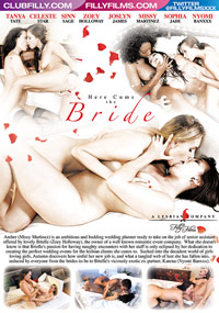 Here Cums The Bride DVD back cover