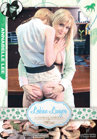Annabelle Lee's Lesbian Lawyers - DVD Cover