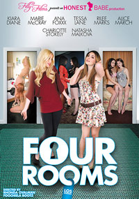 Four Rooms: Los Angeles - DVD Cover