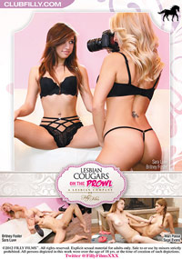Lesbian Cougars On The Prowl - DVD Cover