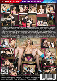 Tanya Tate's Brit School Brats DVD back cover