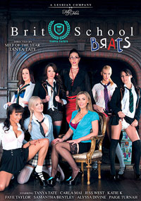 Tanya Tate's Brit School Brats - DVD Cover