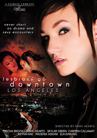 Lesbians Go Downtown Los Angeles - DVD Cover