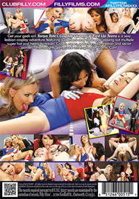 Cosplay Queens And Tied Up Teens DVD back cover