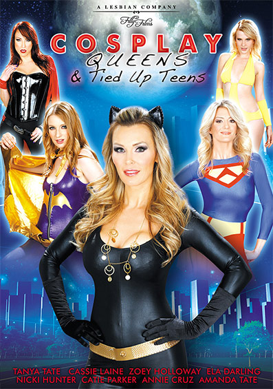 Cosplay Queens And Tied Up Teens DVD front cover
