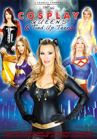 Tanya Tate's Cosplay Queens And Tieds Up Teens