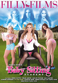 Tanya Tate's Baby Sitting Academy - DVD Cover