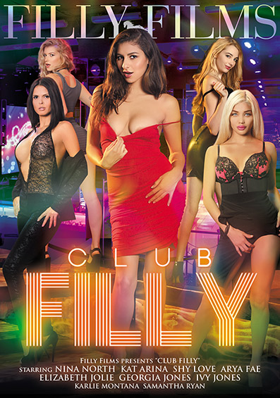 Club Filly DVD front cover