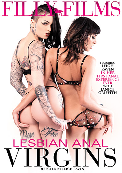 Lesbian Anal Virgins DVD front cover