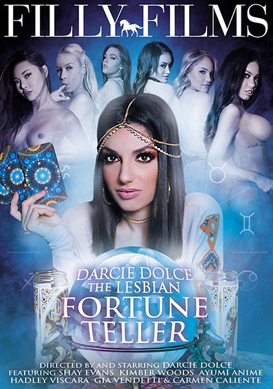 Darcie Dolce The Lesbian Fortune Teller DVD front cover
