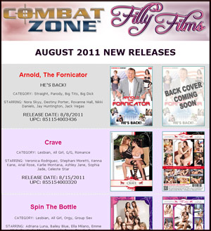 Filly Films August 2011 New Releases