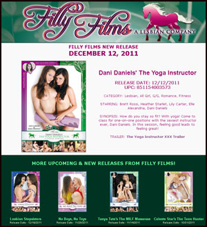 Filly Films presents Dani Daniels' The Yoga Instructor