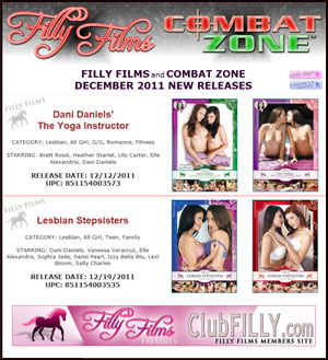 Filly Films New Releases December 2011