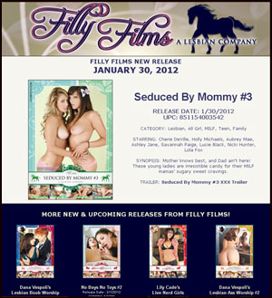 Filly Films presents Seduced By Mommy 3