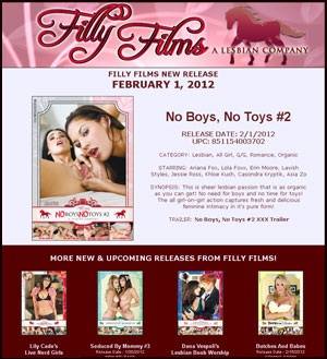 Filly Films presents No Boys No Toys 2