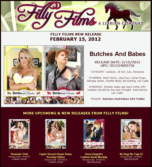 Filly Films presents Butches And Babes