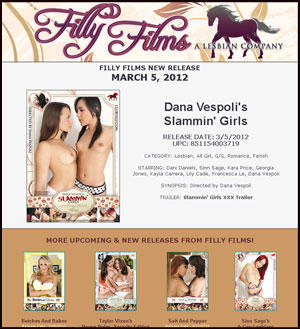 Filly Films presents Dana Vespoli's Slammin' Girls