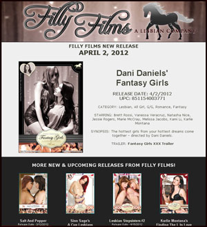 Filly Films presents Dani Daniels' Fantasy Girls
