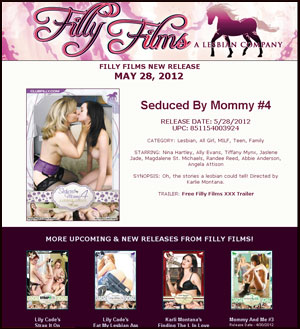 Filly Films presents Seduced By Mommy #4