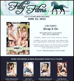 Filly Films presents Lily Cade's Strap It On