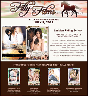Filly Films presents Lesbian Riding School