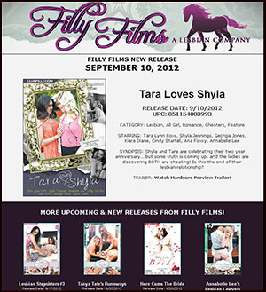 Filly Films presents Tara Loves Shyla