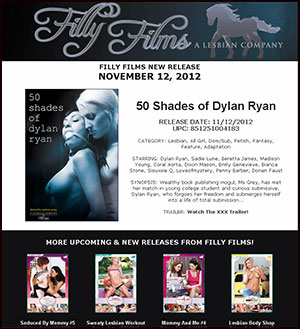 Filly Films presents 50 Shades of Dylan Ryan