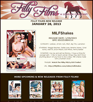 Filly Films presents MILFShakes