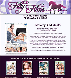 Filly Films presents Mommy And Me #5