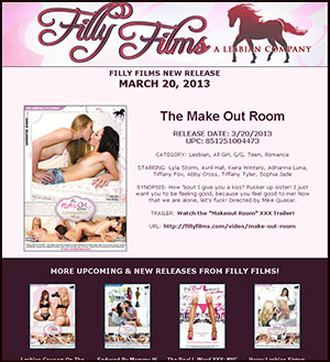 Filly Films presents The Make Out Room
