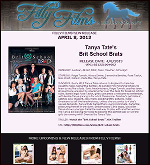 Filly Films presents Tanya Tate's Brit School Brats