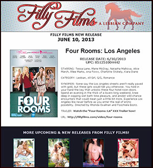 Filly Films presents Four Rooms: Los Angeles