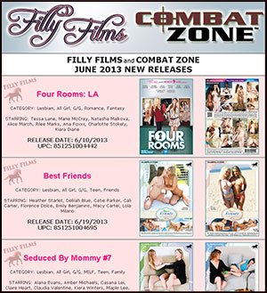 Filly Films June 2013 New Releases