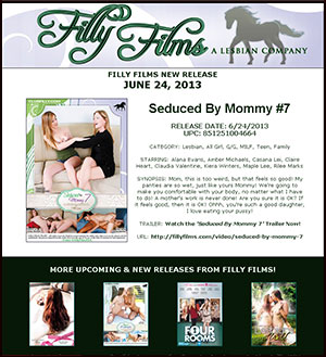 Filly Films presents Seduced By Mommy #7