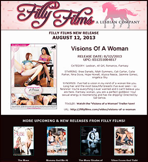 Filly Films presents Visions Of A Woman