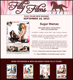 Filly Films presents Sugar Mamas