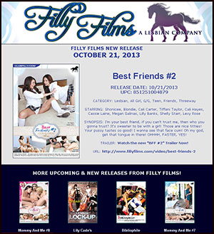Filly Films presents Best Friends #2