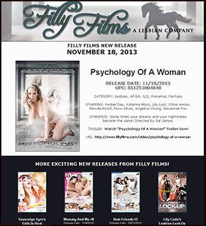 Filly Films presents Psychology Of A Woman