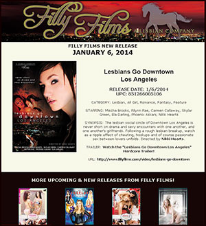 Filly Films presents Lesbians Go Downtown Los Angeles