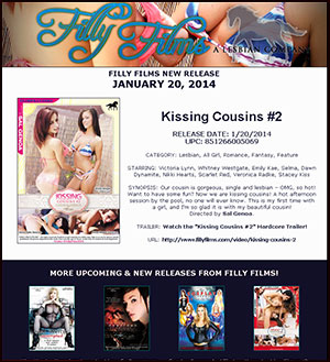 Filly Films presents Kissing Cousins #2
