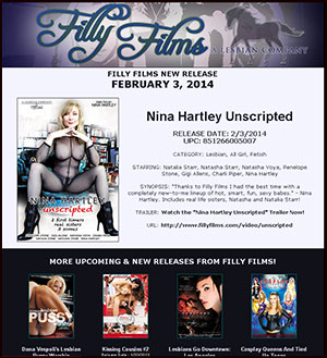 Filly Films presents Nina Hartley Unscripted