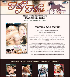 Filly Films presents Mommy And Me #9