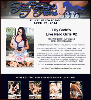 Filly Films presents Live Nerd Girls #2