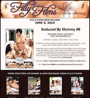 Filly Films presents Seduced By Mommy #8