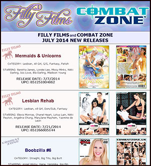 Filly Films July 2013 New Releases