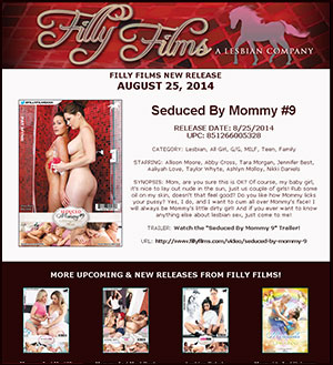 Filly Films presents Seduced By Mommy #9