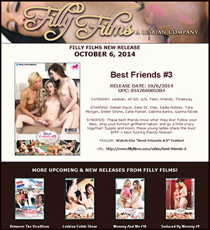 Filly Films presents Best Friends #3