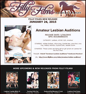 Filly Films presents Amateur Lesbian Auditions