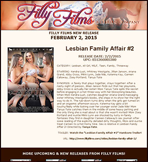 Filly Films presents Lesbian Family Affair #2