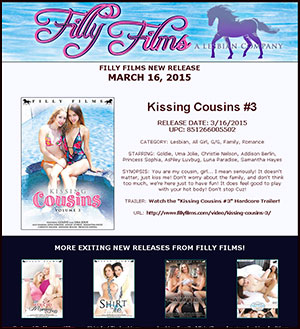 Filly Films presents Kissing Cousins #3
